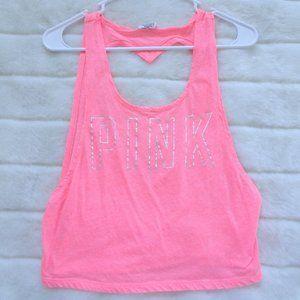 🌵 Pink Victoria's Secret Tank Top Size XS